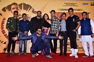 Team Simmba at the trailer launch of the movie