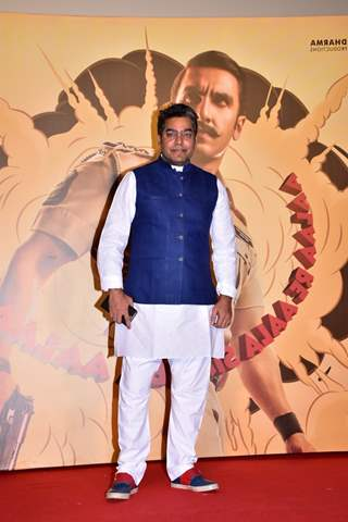 Ashutosh Rana snapped at Simmba movie trailer launch