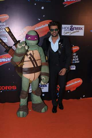 Manish Paul at Nickelodeon Kids Choice Awards 2018