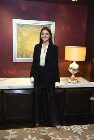 Anushka Sharma snapped at 'Zero' promotions
