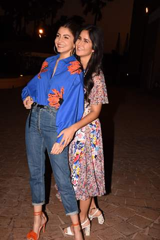 Anushka Sharma and Katrina Kaif spotted during Zero's Promotions