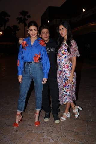 Anushka Sharma, Shah Rukh Khan and Katrina Kaif spotted during Zero's Promotions