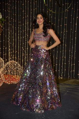 Janhvi Kapoor at Priyanka Chopra and Nick Jonas Wedding Reception, Mumbai