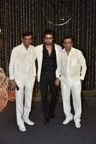 Abbas-Mustan at Priyanka Chopra and Nick Jonas Wedding Reception, Mumbai