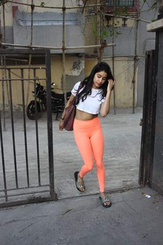 Janhvi Kapoor spotted around the town
