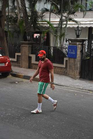 Saif Ali Khan spotted around the town