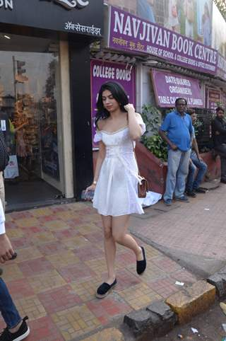 Khushi Kapoor spotted around the town