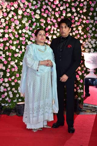Shekar Suman at Kapil Sharma and Ginni Chatrath's Reception, Mumbai