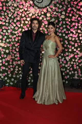 Gurmeet Choudhary and Debina Bonnerjee at Kapil Sharma and Ginni Chatrath's Reception, Mumbai