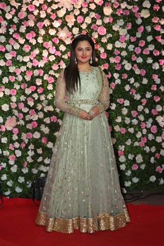 Rashami Desai at Kapil Sharma and Ginni Chatrath's Reception, Mumbai