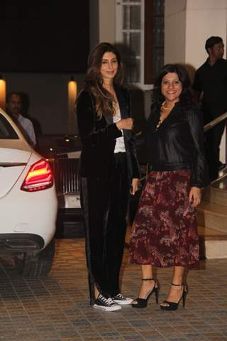 Zoya Aktar at Saif Ali Khan House Christmas Party Pictures