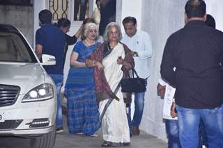 Waheeda Rehman attends the special screening of Simmba