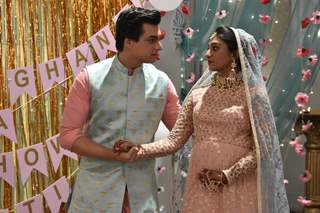 Kartik and Kirti brother sister bonding at Baby Shower from Yeh Rishta Kya Kehlata Hai