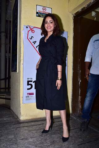 Yami Gautam snapped at URI screening