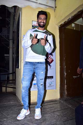 Vicky Kaushal snapped at URI screening