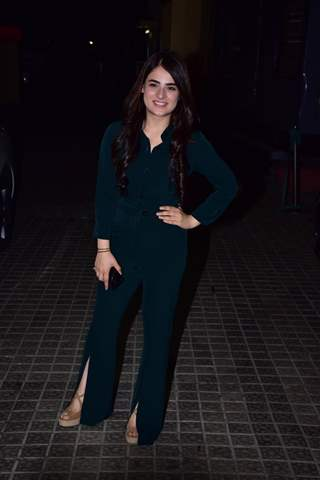 Radhika Madan snapped at URI screening