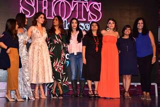 The cast of 'Four More Shots Please' at the trailer launch