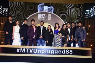 Celebrities snapped at MTV unplugged