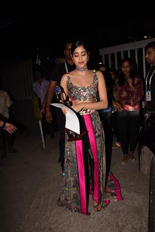 Janhvi Kapoor at Lions Gold Awards
