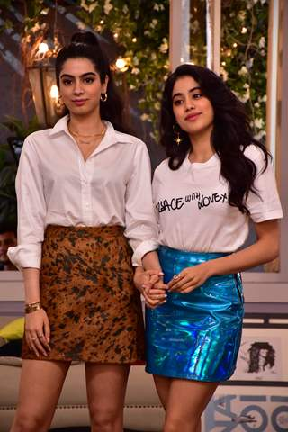 Janhvi Kapoor and Khushi Kapoor at Neha Dhupia's BFF with Vogue