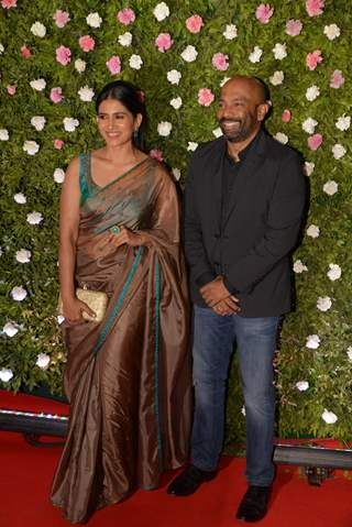 Sonali Kulkarni at Amit Thackeray's reception