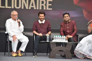 Gulzar, Anil Kapoor and A.R. Rehman spotted at Slumdog Millionaire 10 year celebration