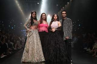Isabelle Kaif, Bhumi Pednekar, Karan Johar snapped at Lakme Fashion Week