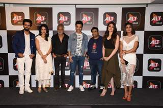 Bollywood celebs at the launch of 'Boo Sabki Phategi'