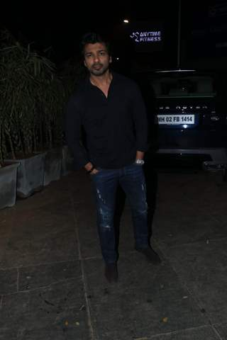 Nikhil Dwivedi at Nora Fatehi's Birthday bash!