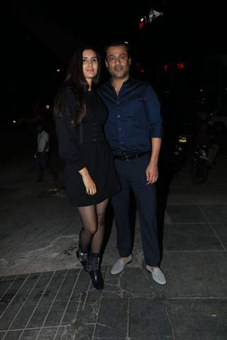 Abhishek Kapoor at Nora Fatehi's Birthday bash!