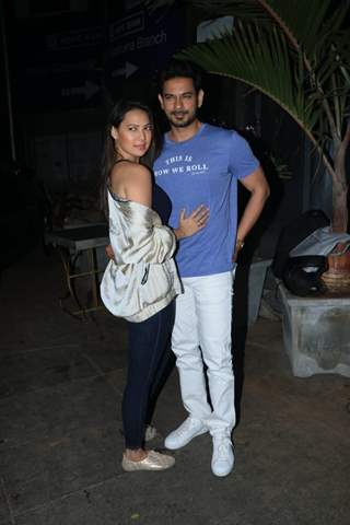 Keith Sequeira and Rochelle Rao at Nora Fatehi's Birthday bash!