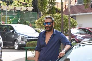 Ajay Devgn at Total Dhamaal Promotions