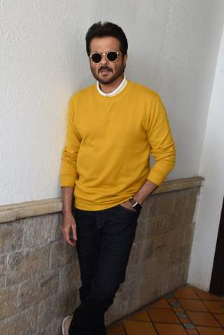 Anil Kapoor at Total Dhamaal Promotions