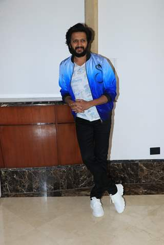 Riteish Deshmukh of Total Dhamaal promoting the film