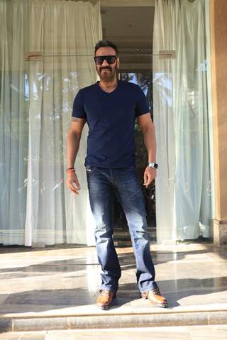 Ajay Devgn of Total Dhamaal promoting the film