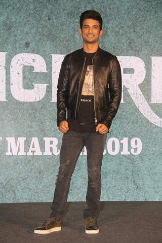Sushant Singh Rajput of Sonchiriya at the trailer launch