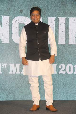 Ashutosh Rana of Sonchiriya at the trailer launch