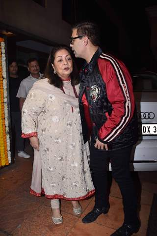 Celebrities at Ekta Kapoor baby's naming ceremony