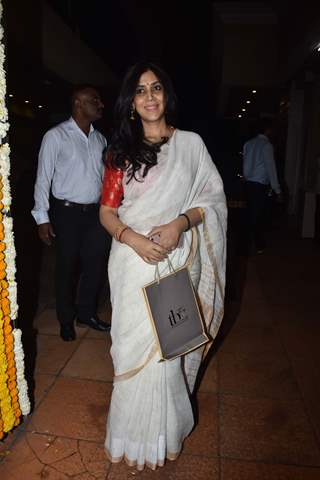Sakshi Tanwar at Ekta Kapoor baby's naming ceremony