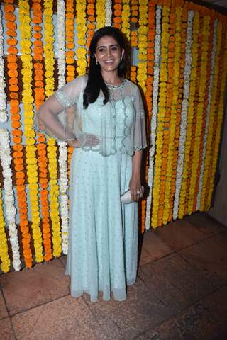 Sonali Kulkarni at Ekta Kapoor baby's naming ceremony