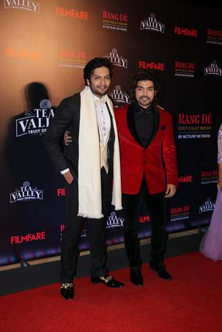 Ali and Gurmeet attend Filmfare Awards