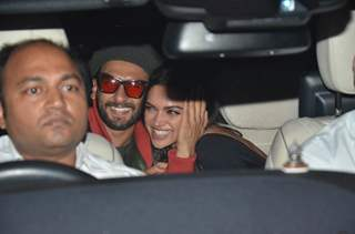 Ranveer-Deepika's PDA during the Gully Boy screening