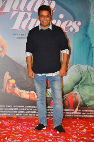 Ashutosh Rana snapped at Milan Talkies Trailer Launch