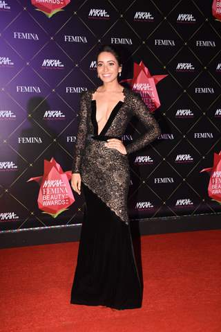Asha Negi at Nykaa Femina Beauty Awards 2019