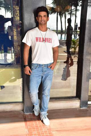 Sushant Singh Rajput snapped at Sonchiriya Promotions