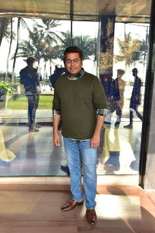 Ashutosh Rana snapped at Sonchiriya Promotions