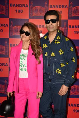 Karan Johar at Bandra 190 exhibition