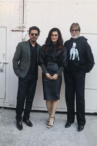 Bollywood celebrities at the promotions of Badla