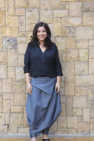 Zoya Akhtar on a promotional spree for 'Made In Heaven'!