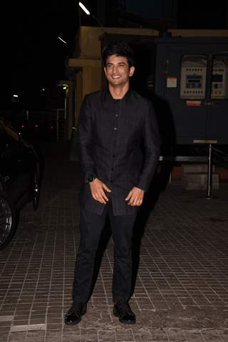 Sushant Singh Rajput at Sonchiriya special screening